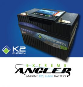 K2 Energy Unveils Groundbreaking Line of Trolling Motor Smart Batteries