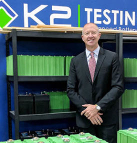 K2 Energy Solutions, Inc. announces hiring Sean Campbell as their Vice President of Sales & Marketing