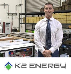 K2 Energy Solutions, Inc. announces hiring James Getzen as a Business Development Manager