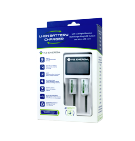K2 Energy Solutions, Inc. announces a New Li-ion Battery Charger.