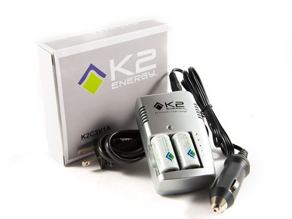 K2C3V1A Charger with two K2123A Batteries