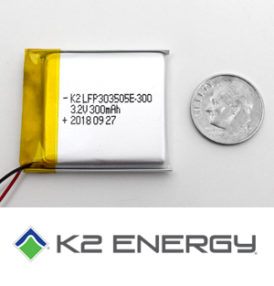 K2 Energy Solutions Releases New Prismatic Cells