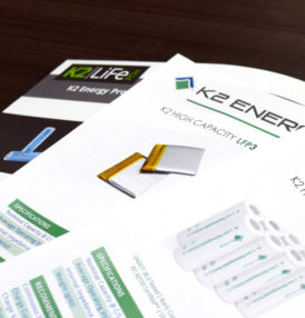 K2 Energy Solutions Expands their Competitive Cell Portfolio