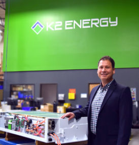 K2 Energy has announced the appointment of Eric Villarreal as VP of Operations and Technical Sales.